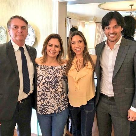 Bolsonaro diz que escolheu Faria pela relação com família do Silvio Santos
