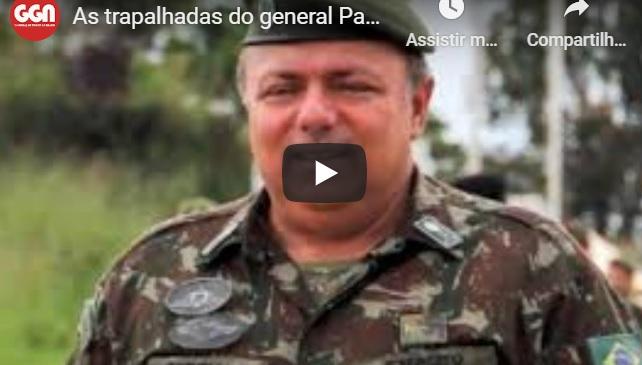 TV GGN: as trapalhadas do general Pazuello