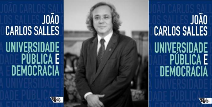 Universidade pública e democracia, novo livro de João Carlos Salles