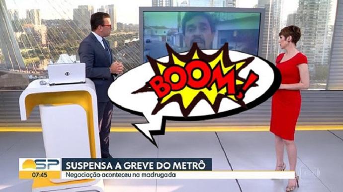 Bomba semiótica da luta de classes explode ao vivo no estúdio da Globo, por Wilson Ferreira
