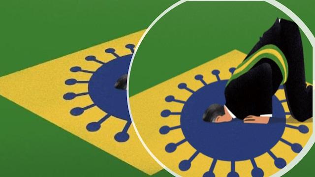 Guerra Híbrida: Bolsonaro com COVID-19 é um meme autoimune, por Wilson Ferreira