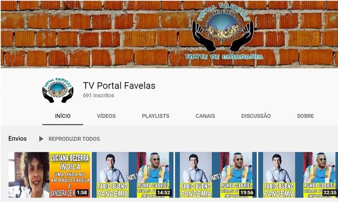 Hoje, às 11h, lançamento da TV Portal Favelas