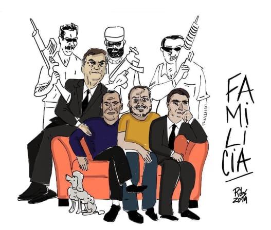 """""""Ligação de Bolsonaro com milícias é ideológica"""", diz escritor"""