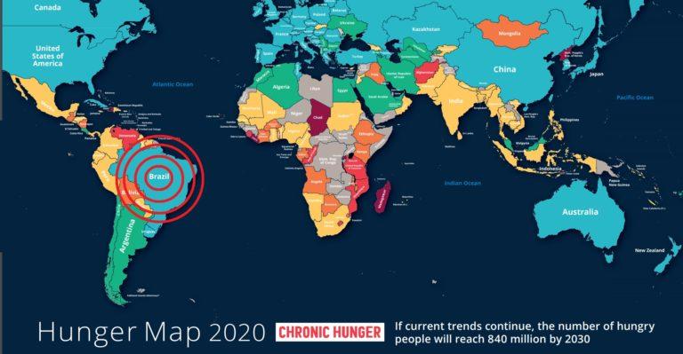 Retrocesso: em 2020, o Brasil voltou ao Mapa da Fome