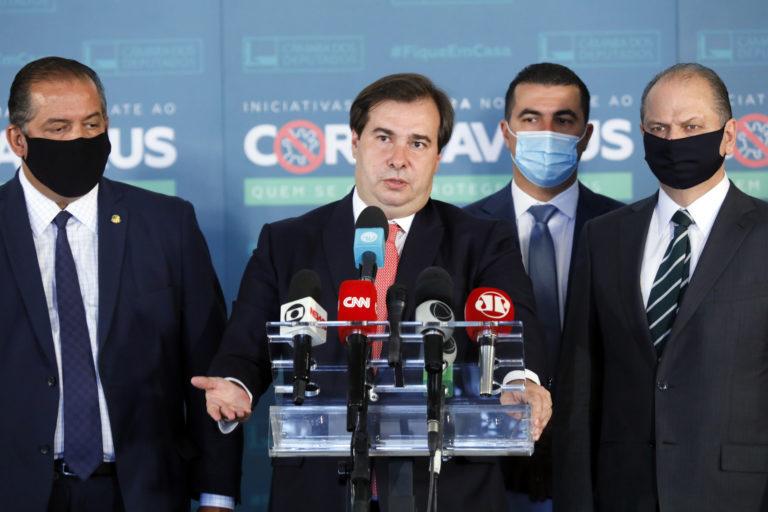Oposição confirma apoio ao candidato de Rodrigo Maia