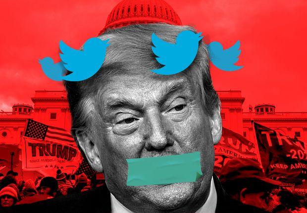 Banimento de Trump sinaliza mudança na mídia social em relação à censura?