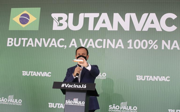Doria diz que vacinará pessoas acima dos 18 anos até dezembro de 2021