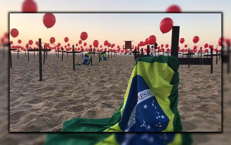 O dia mais mortal da pandemia: com 3.650 mortos, Brasil bate recorde em 24h