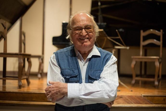 Edino Krieger faz 93 anos anos com muita festa, por Carlos Motta