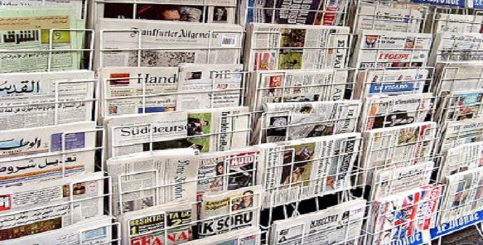 Manchetes dos jornais do Mundo
