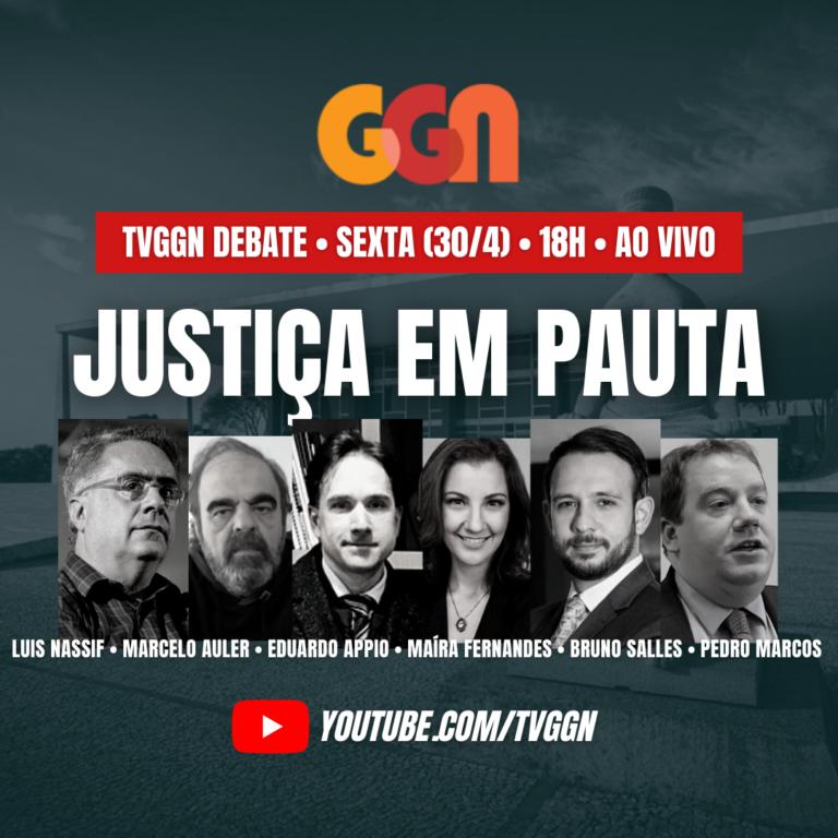 TVGGN discute suspeição de Moro, prisão e tortura de blogueiro, as pantentes e o papel do STF na pandemia. Assista
