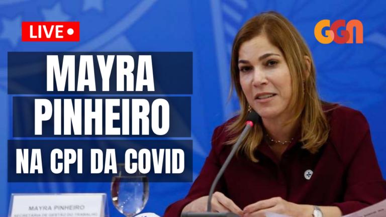Médica Mayra Pinheiro presta depoimento à CPI da Covid; acompanhe ao vivo