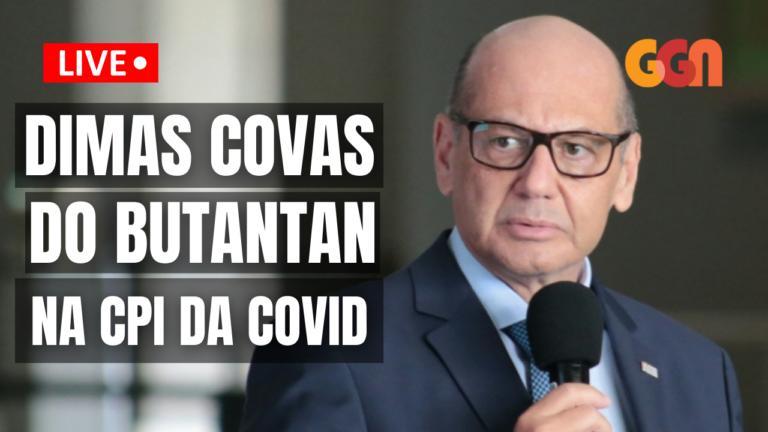Dimas Covas, do Butantan, presta depoimento à CPI da Covid; acompanhe aqui