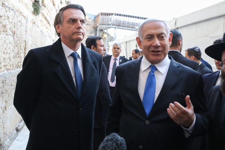 O sionismo bolsonarista e a defesa do Apartheid Israelense, por Bruno Beaklini