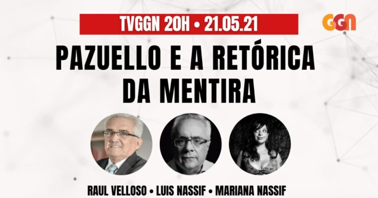 TV GGN 20h: Pazuello e a retórica da mentira