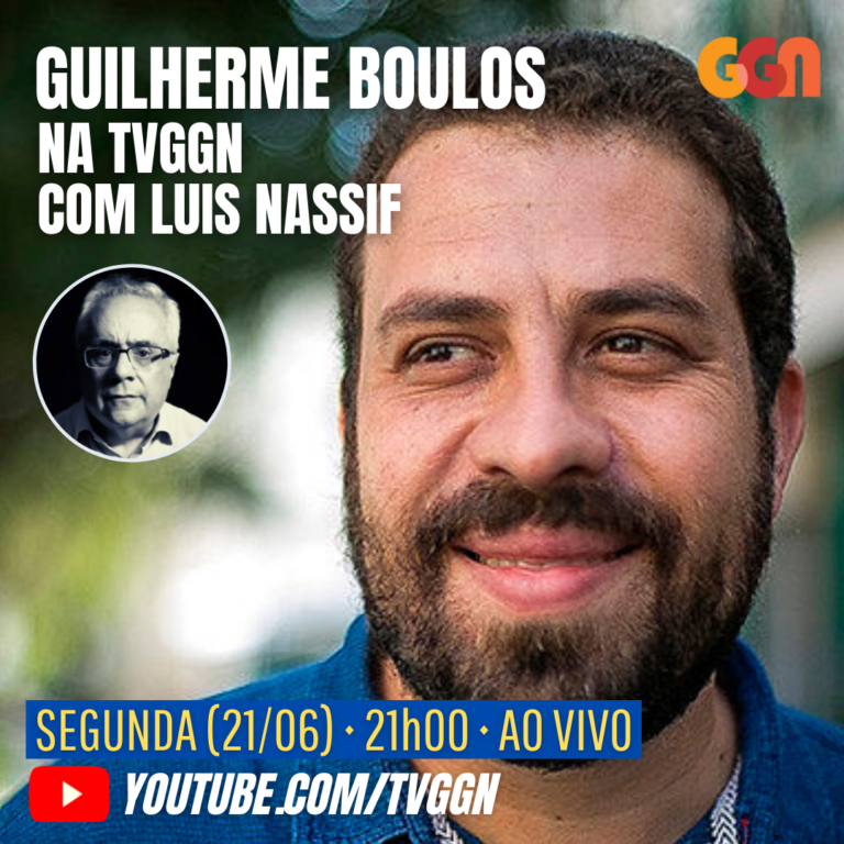 "Guilherme Boulos participa do programa ""TVGGN 20 Horas"". Assista"