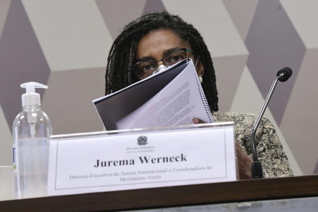 """""""Precisávamos ter uma liderança consistente e que se apoiasse em evidência científica"""", complementa Jurema Werneck"""