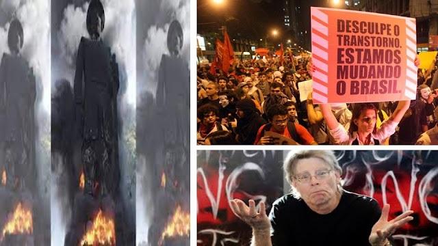 O inferno da repetição é o que ardeu nas chamas da estátua do Borba Gato, por Wilson Ferreira