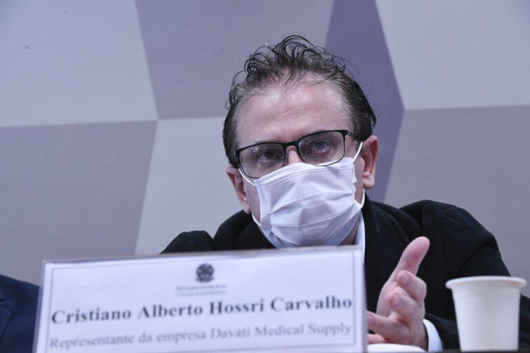 """Reverendo Amilton """"deve ter tratado remuneração"""" com Dominghetti, diz Cristiano Carvalho"""