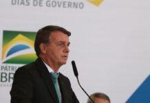 Jair Bolsonaro em evento do governo