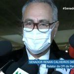Renan Calheiros, senador e relator da CPI da Pandemia