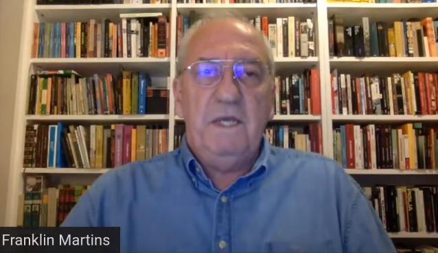Franklin Martins, autor da proposta de regulação da mídia do PT