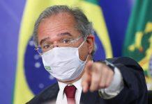 O ministro da Economia do governo Bolsonaro, Paulo Guedes