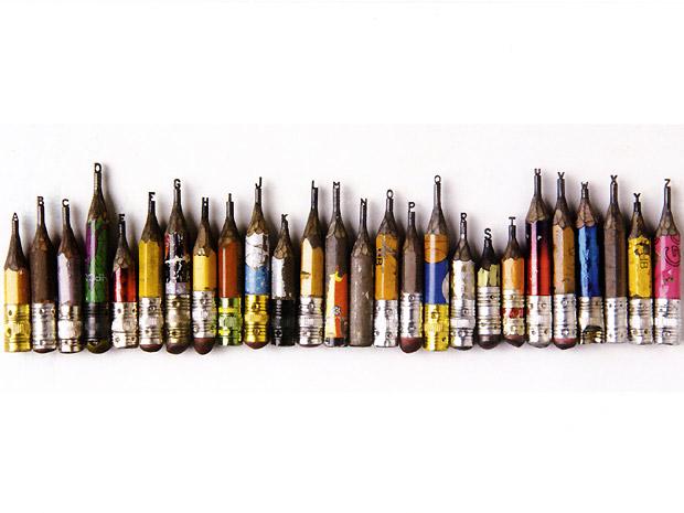 O escultor de ponta de lápis